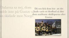 Grej of the day - Gustav Vasa, Emil