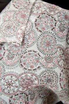 1950's Dress // Spider Web Novelty Print Nylon by GarbOhVintage