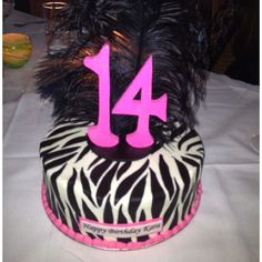 Fabulous 14th Birthday Cake!