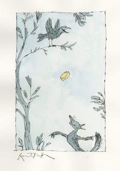 Quentin Blake s'expose à Paris - Tous les livres et la littérature jeunesse