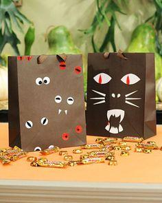 diy halloween treat bags for school