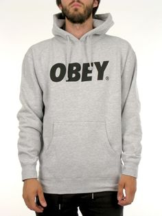Font Hoodie for Men by Obey