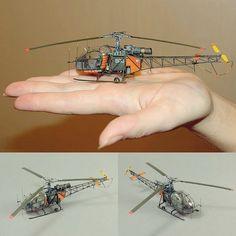 Sud-Aviation SE.313B 'Alouette II' 1/72 ExtraTECH. Modeler Maxim Gumenyuk #scalemodel #plastimodelismo #miniatura #miniature #maqueta #maquette #modelismo #modelism #modelisme #miniatur #hobby #helicopter #aviation #alouette #usinadoskits #udk #diorama