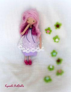 Collectible Art Doll - 28cm Soft Dolls, Handmade, Art, Art Background, Hand Made, Kunst, Performing Arts, Handarbeit, Art Education Resources