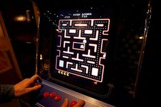 Tommi's Burger Joint Pacman game
