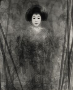 """Le photographe Ken Kitano utilise pour sa série """"Our Face"""" une technique de longue exposition pour créer des portraits en noir et blanc uniques."""