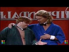 Chris Farley and Patrick Swayze-----Chippendales SNL