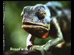 Budweiser frog commercial Louie the lizard