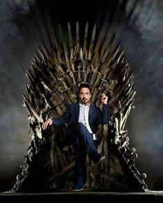 Finally a Stark worthy of the Iron Throne Game of Thrones #got #gameofthrones #juegodetronos