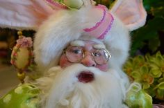 Easter Bunny Santa....adorable