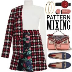 ~Head-to-Toe Pattern Mixing~ Top Set Sep 29th, 2016