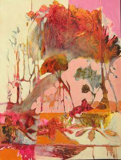 Tangerine forest...Judy Thorley