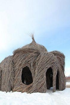 fantasy shack - at the Minnesota Landscape Arboretum