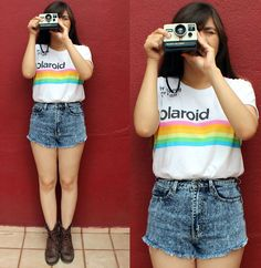 Polaroid  hype me & and fan me on Lookbook.nu here ---> http://lookbook.nu/karencardiel