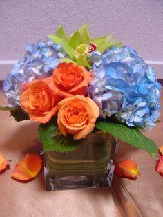Wedding, Flowers, Reception, Green, Ceremony, Orange, Brown, Blue
