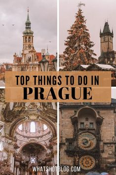 If you're visiting Prague in December then check out this list of top ten things to do. There are things to do things to see and things to eat in the Czech capital Prague. Prague Christmas, Prague Winter, European Destination, European Travel, Amazing Destinations, Travel Destinations, Prague Things To Do, Europe Travel Guide, Travel Guides