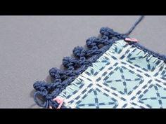 Crochet Border Tutorial: How to Crochet a Bullion Coil