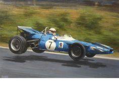 '1969 German Grand Prix - Jackie Stewart in the Matra MS80