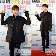 160409 K CON Japan red carpet #sungkyu #kimsungkyu #infinite #inspirit #sunggyu #kimsunggyu