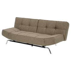 Have to have it. Marcel Euro Lounger - Dark Gray - $371.98 @hayneedle