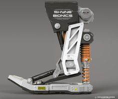 ArtStation - Bionic foot, Hristian Ivanov Shyne
