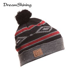 d3d2e507ef1 DreamShining Women Winter Skullies   Beanies Women S Autumn Hats Winter Hat  For Girls Knitted Beanie Women