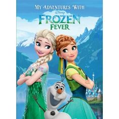 My Adventures with Disney Frozen Fever - Regular Size - Disney Frozen Fever - Shop By Character - Personalized Storybooks from Identity Direct USA