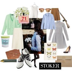 Polyvore Outfits, Stoker Movie, Strike A Pose, Modern Fashion, Wearing Black, Female Characters, Retro Style, My Style, Preppy