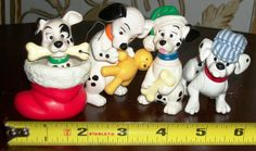 LOT OF 4 DISNEY 101 Dalmations Christmas Ornaments Figureines Collectible Toy in Collectibles | eBay Holiday Ornaments, Holiday Decor, 101 Dalmations, Toys, Disney, Ebay, Collection, Activity Toys, Clearance Toys