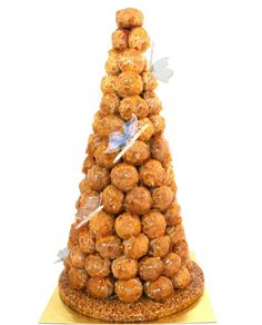 Adriano Zumbo once baked a 250-ball croquembouche for a wedding. Smaller versions are popular options for the big day (and are a unique alternative to the traditional wedding cake).
