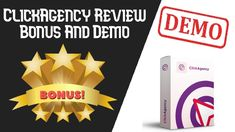 ClickAgency Review | ClickAgency Bonus And Demo Lead Page, Google Ads, Lead Generation, Tool Design, Make It Yourself, Pinterest Home Page