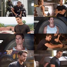 ; NEW exclusive stills of Tobias in Allegiant! Protect Tobias Eaton at all costs...