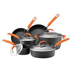 A registry must. Rachael Ray Hard Anodized II 10 piece cookware set