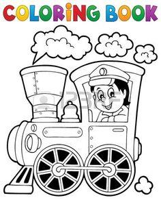 lokomotywa%3A+Kolorowanka+poci%C4%85g+tematu