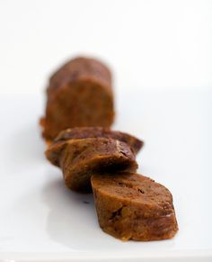 a super basic vegan sausage recipe.The now classic, always magical, seitan and bean steamed-in-tinfoil sausage. Perfect for grilling, sauteeing or tossing into stews Vegan Sausage Recipe, Sausage Recipes, Veggie Sausage, Seitan Recipes, Whole Food Recipes, Cooking Recipes, Vegan Main Dishes, Vegan Burgers, Gourmet