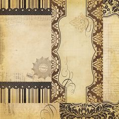 Simple Stories - Documented Collection - 12 x 12 Double Sided Paper - Page Elements at Scrapbook.com $1.09