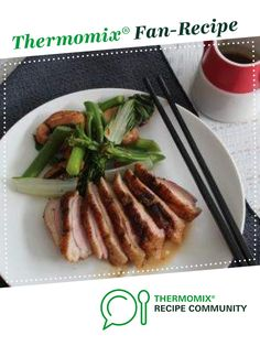Five spice duck with mushroom and Asian greens by Thermomix in Australia. A Thermomix <sup>®</sup> recipe in the category Main dishes - meat on www.recipecommunity.com.au, the Thermomix <sup>®</sup> Community.