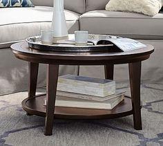 Metropolitan Round Coffee Table #potterybarn $299