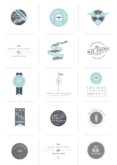 [ design + process + options + #logolovin ] stitch  #logo
