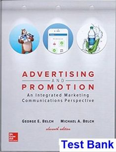Strategic management text and cases 8th edition solutions manual advertising and promotion an integrated marketing communications perspective 11th edition belch test bank fandeluxe Image collections