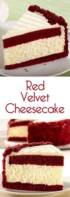 It's kind of the most amazing thing evera red velvet layer-cake with a layers of cheesecake mixed intopped with cream cheese icing.