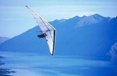 Hang Gliding in New Zealand -  I truly think I'd try this! I'd be scared but man oh man it'd be worth it!