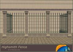 Mod The Sims - Highsmith Fences