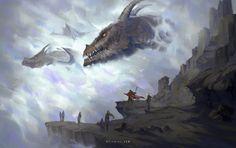 Passing Dragons by Nele-Diel on DeviantArt