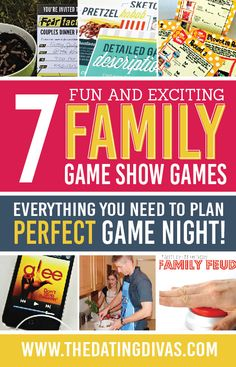 7 Fun and Exciting Family Game Show Games. Everything for the Perfect Family Game Night!