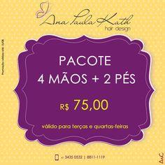 Promoção Ana Paula Kath Hair