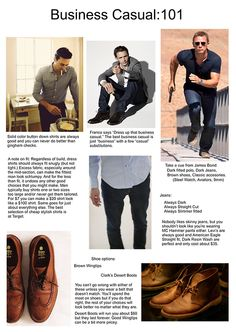 Business Casual 101 #menswear #style #basics #details