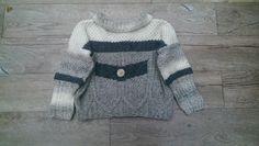Knopf - Kinder Strickjacke von ........ ★☆★☆★ ... Elfen Zipfel ღ Strickwerk ... ★☆★☆★ .......     ....  -`ღღ´-  .. knittingdesign by Jolanta-H. Ahlers .. -`ღღ´-  .... auf DaWanda.com