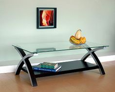 Contemporary Glass Coffee Table - Overstock™ Shopping - Great Deals on Coffee, Sofa & End Tables