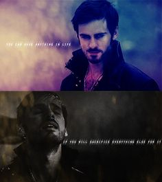 Captain Hook Once Upon a Time   Once Upon A Time Captain Hook i love him on this show. Somehow the villains steal my heart